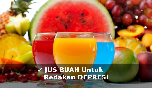 jus buah untuk meredakan dan menghilangkan depresi secara alami