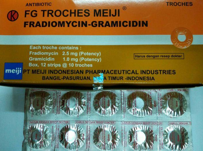 FG Troches Meiji: Dosis, Aturan Pakai, & Efek Sampingnya