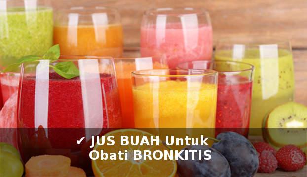 aneka jus buah untuk mengobati bronkhitis secara alami