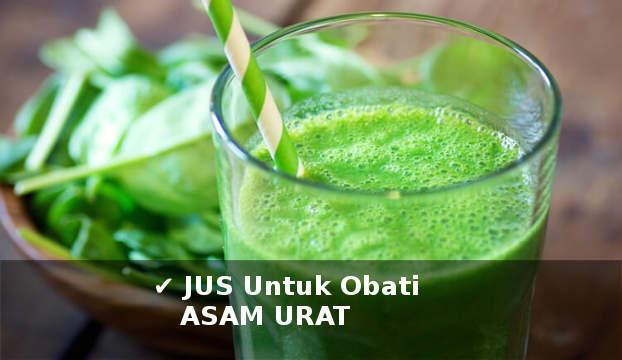 aneka jus sayur dan buah untuk mengobati asam urat secara alami