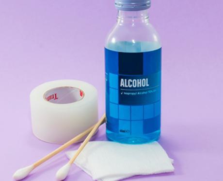 alkohol 70 untuk membersihkan pusar bayi perlengkapan bayi baru lahir