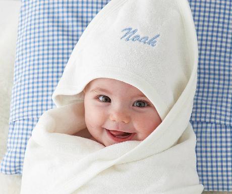 handuk yang lembut untuk bayi baru lahir