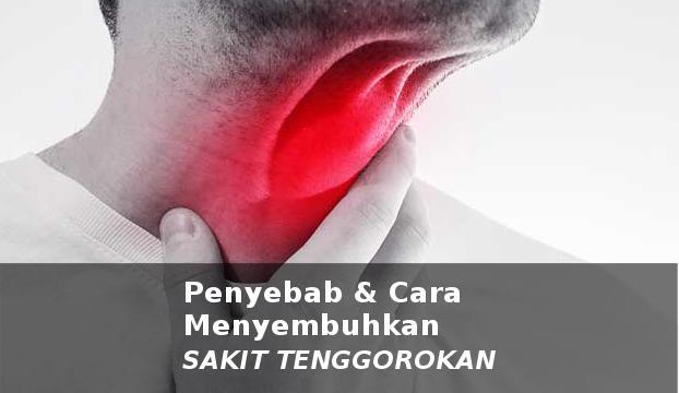 penyebab dan cara menyembuhkan sakit tenggorokan
