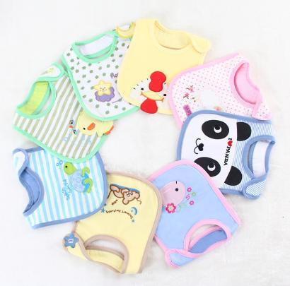 perlengkapan bayi baru lahir celemek bayi yang lembut dan bagus