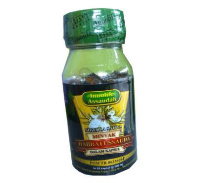 Habbasyi Black Seed obat herbal amandel di apotik yang ampuh
