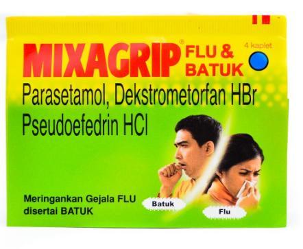 Mixagrip Flu Batuk Tablet
