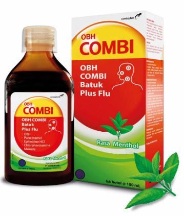 Obh Combi Dewasa Batuk Flu Mint 100ml