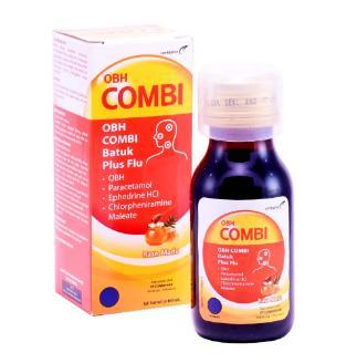 Obh Combi Dewasa Batuk Flu Rasa Madu 100ml