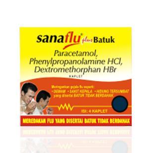Sanaflu Forte Tab Str 4s