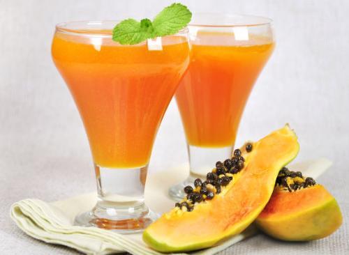 jus buah pepaya yang menyehatkan dan berkhasiat obat untuk penyakit