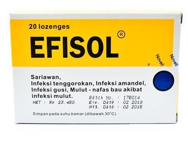 obat apotik radang tenggorokan ampuh efisol