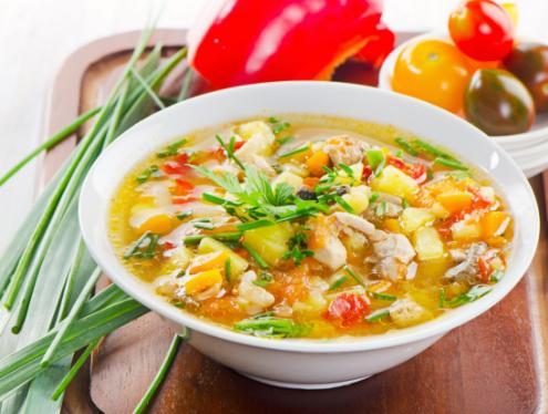 sup dan bubur bak dimakan untuk obat amandel alami