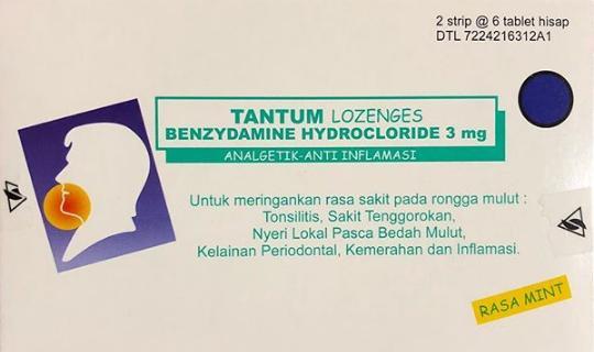 tantum lozenges untuk obati sakit tenggorokan dengan cepat