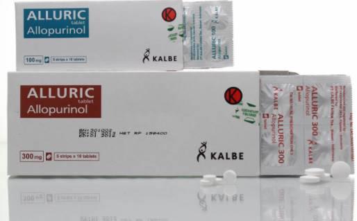 alluric allupurinol obat resep dokter untuk asam urat yang tinggi