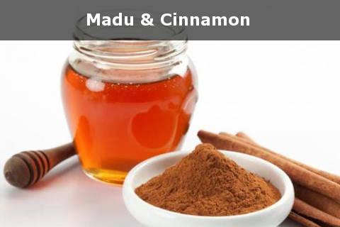 madu dan kayu manis cinnamon untuk menghilangkan komedo putih dalam 1 hari
