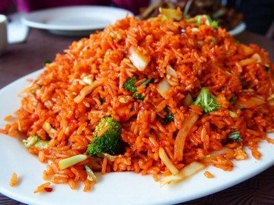 nasi goreng merah menu diet buka puasa