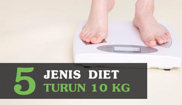 cara turun 10 kg dengan diet sehat