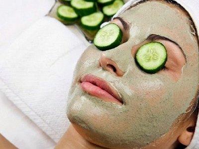 mentimun untuk mengatasi wajah kering dan bersisik secara alami