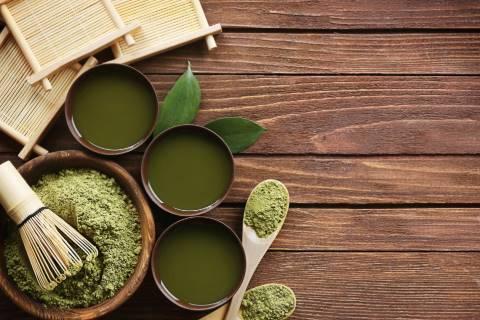 green tea untuk meratakan warna kulit wajah belang