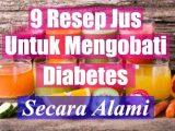 9 Resep Jus Untuk Obati Diabetes Secara Alami Paling Ampuh Manjur