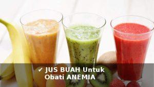 aneka jus buah untuk mengobati anemia secara alami