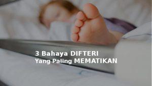 bahaya difteri