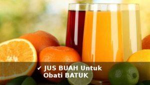 jus buah untuk mengobati batuk kering berdahak secara alami