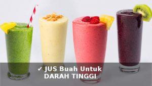 jus buah untuk obat darah tinggi secara alami